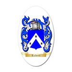 Ruberti 35x21 Oval Wall Decal