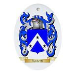 Ruberti Oval Ornament