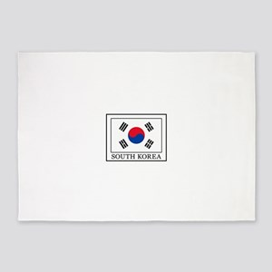 South Korea 5'x7'Area Rug