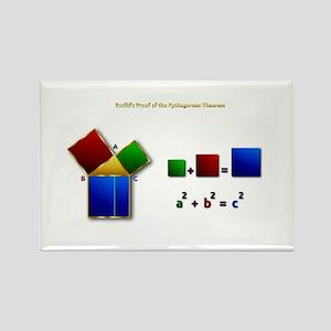 Euclids Pythagorean Theorem Proof Remix Magnets