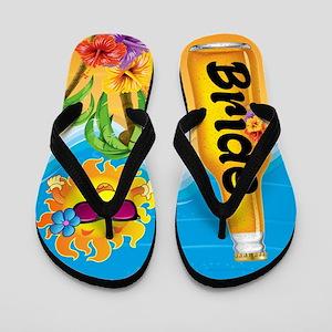 d0047eee2c498 Bride Beer Beach Fun Flip Flops