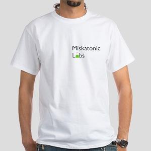 Miskatonic Labs White T-Shirt