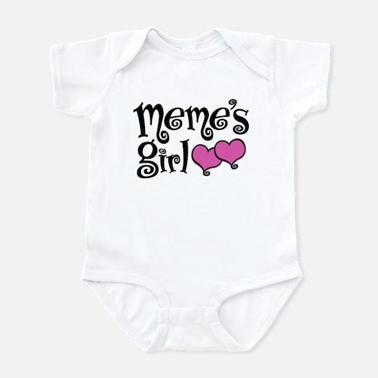 Meme's Girl Infant Bodysuit