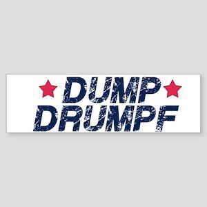 Dump Drumpf Bumper Sticker