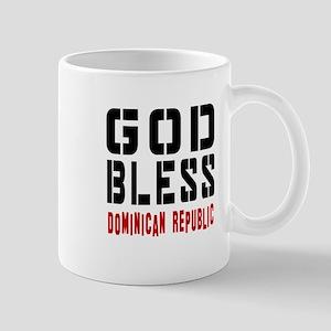 God Bless Dominican Republic Mug