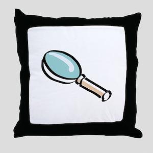 Magnifying Glass Throw Pillow
