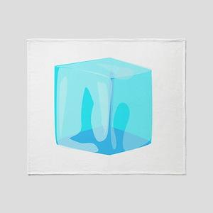 Ice cube Throw Blanket