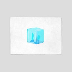 Ice cube 5'x7'Area Rug