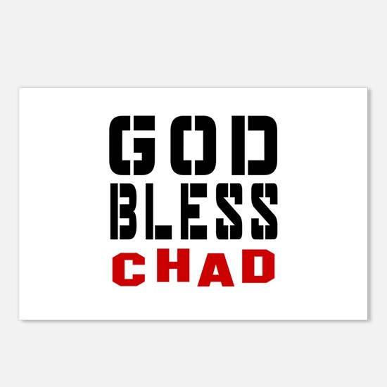 God Bless Chad Postcards (Package of 8)