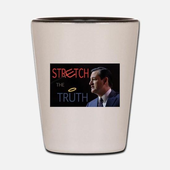 Lying Ted Shot Glass