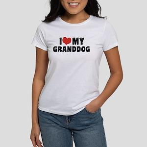 I Love My Granddog Women's T-Shirt