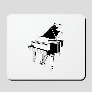Piano blackwhite Mousepad