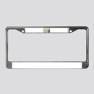 passover License Plate Frame