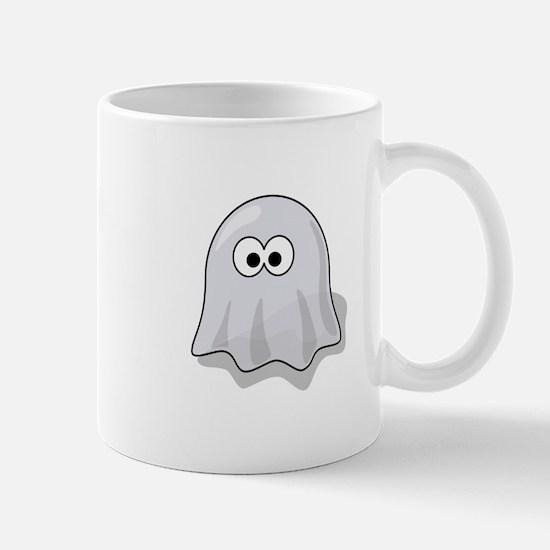 Cartoon Ghost Mugs