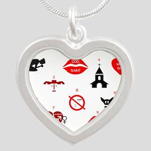 modern ten commandments Necklaces