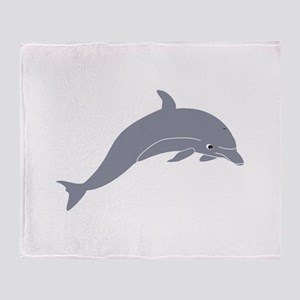 Dolphin enrique meza remix Throw Blanket