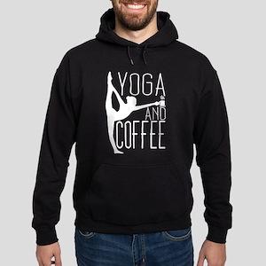 Yoga & Coffee Hoodie (dark)