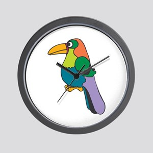 Toucan colorful Wall Clock