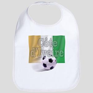 Soccer Flag Cote d'Ivoire Bib