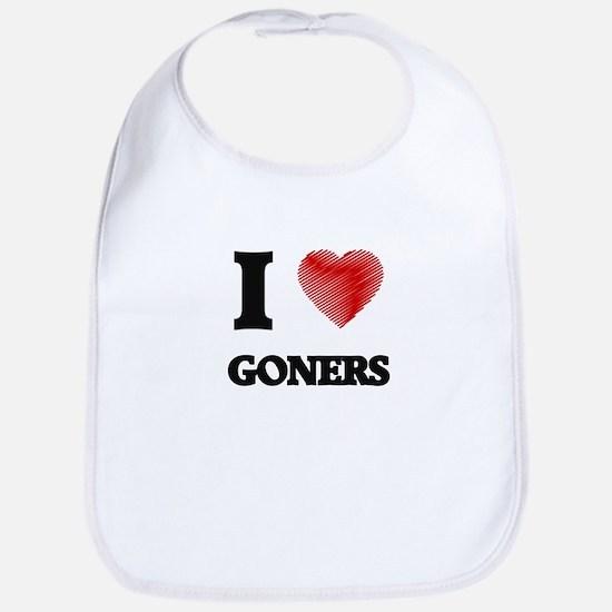 I love Goners Bib