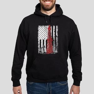 american roughneck Hoodie (dark)