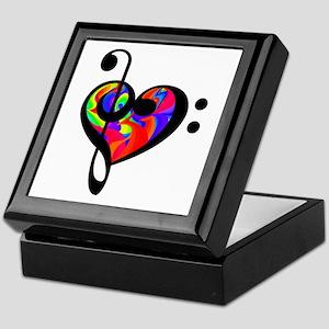 Rainbow Clef Keepsake Box