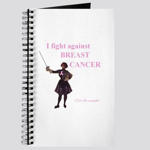 Breast Cancer Awareness Fence Journal