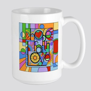 Hope, Faith, Love Mugs