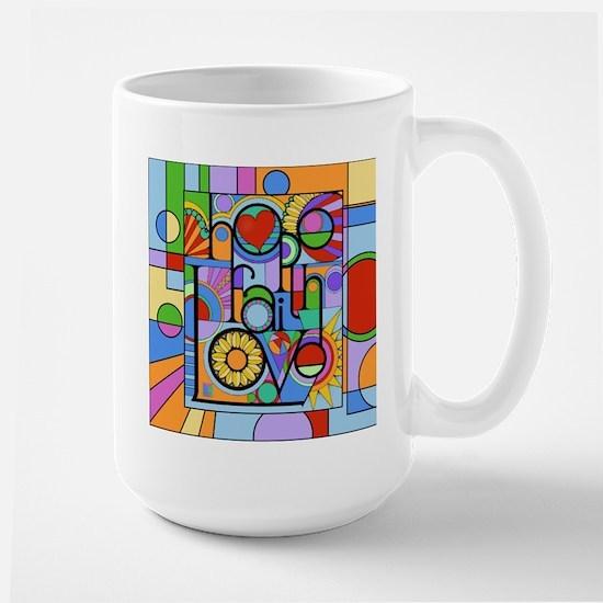 Hope, Faith, Love Mugs