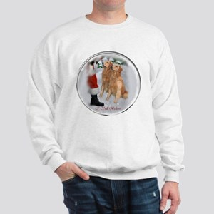 Golden Retriever Christmas Sweatshirt