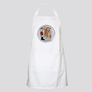 Golden Retriever Christmas Apron