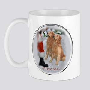 Golden Retriever Christmas Mug