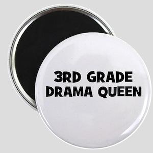 3rd Grade Drama Queen Magnet