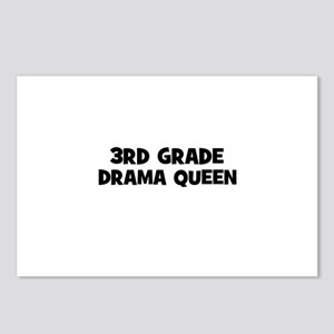 3rd Grade Drama Queen Postcards (Package of 8)