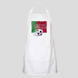 Soccer Flag Portugal BBQ Apron