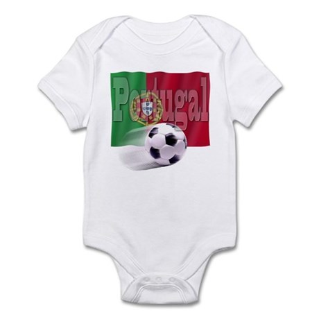 Soccer Flag Portugal Infant Bodysuit
