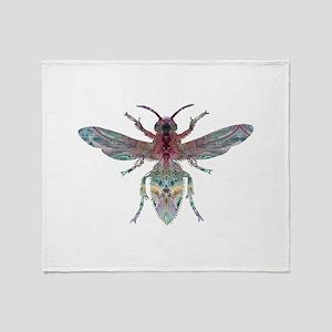 Hornet Throw Blanket