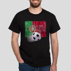 Soccer Flag Portugal Dark T-Shirt