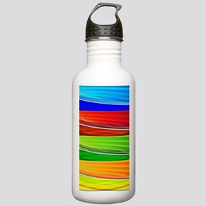 fields of bright color Stainless Water Bottle 1.0L
