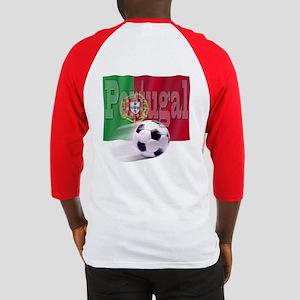 Soccer Flag Portugal (B) Baseball Jersey