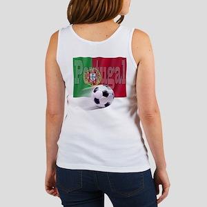 Soccer Flag Portugal (B) Women's Tank Top