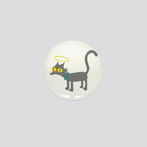 Snowball The Simpsons Mini Button