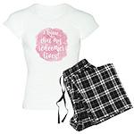 My Redeemer Lives Women's Light Pajamas