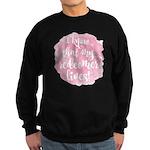 My Redeemer Lives Sweatshirt (dark)