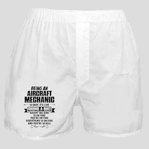 Being An Aircraft Mechanic... Boxer Shorts