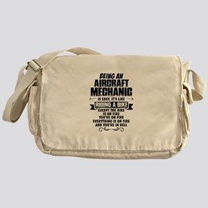 Being An Aircraft Mechanic... Messenger Bag