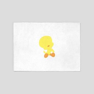 Baby Looney Tunes enjoying 5'x7'Area Rug
