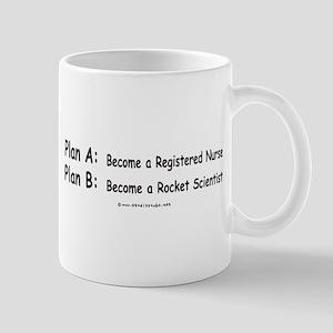 Plan B Rocket Scientist Mug