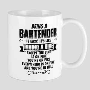 Being A Bartender... Mugs