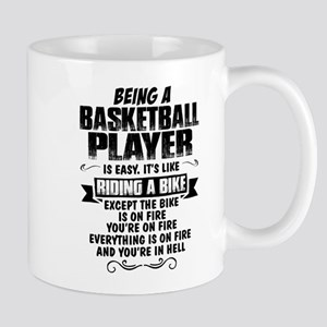 Being A Basketball Player... Mugs